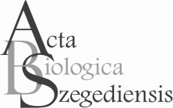 Acta Biologica Szegediensis